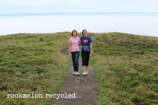 rockmelon recycled at Muttonbird Island