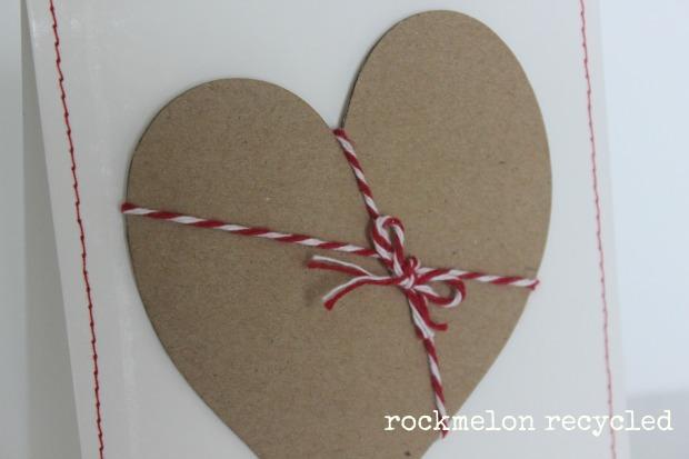 rockmelon recycled handmade Christmas card all i want for Christmas is