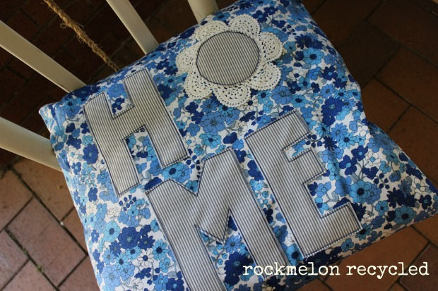 rockmelon recycled cushion home 2