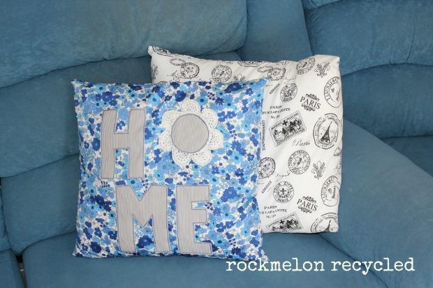 rockmelon recycled cushion home 3