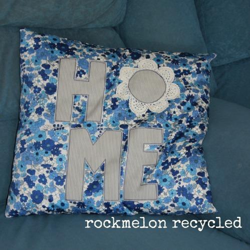 rockmelon recycled cushion home