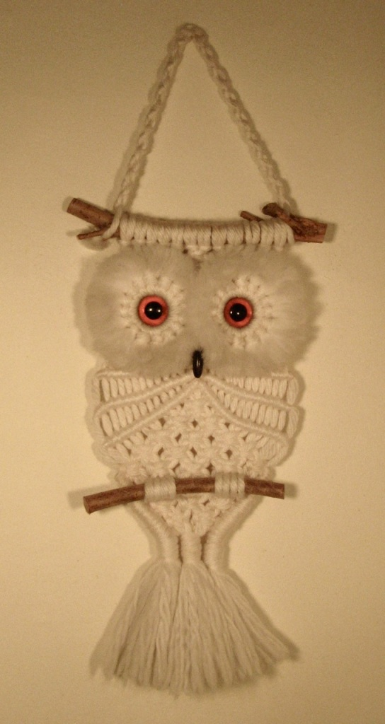 Owl Macrame Cat Preston Its My Cake